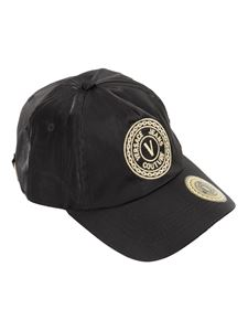 Versace Jeans Couture - Logo embroidery baseball cap in black