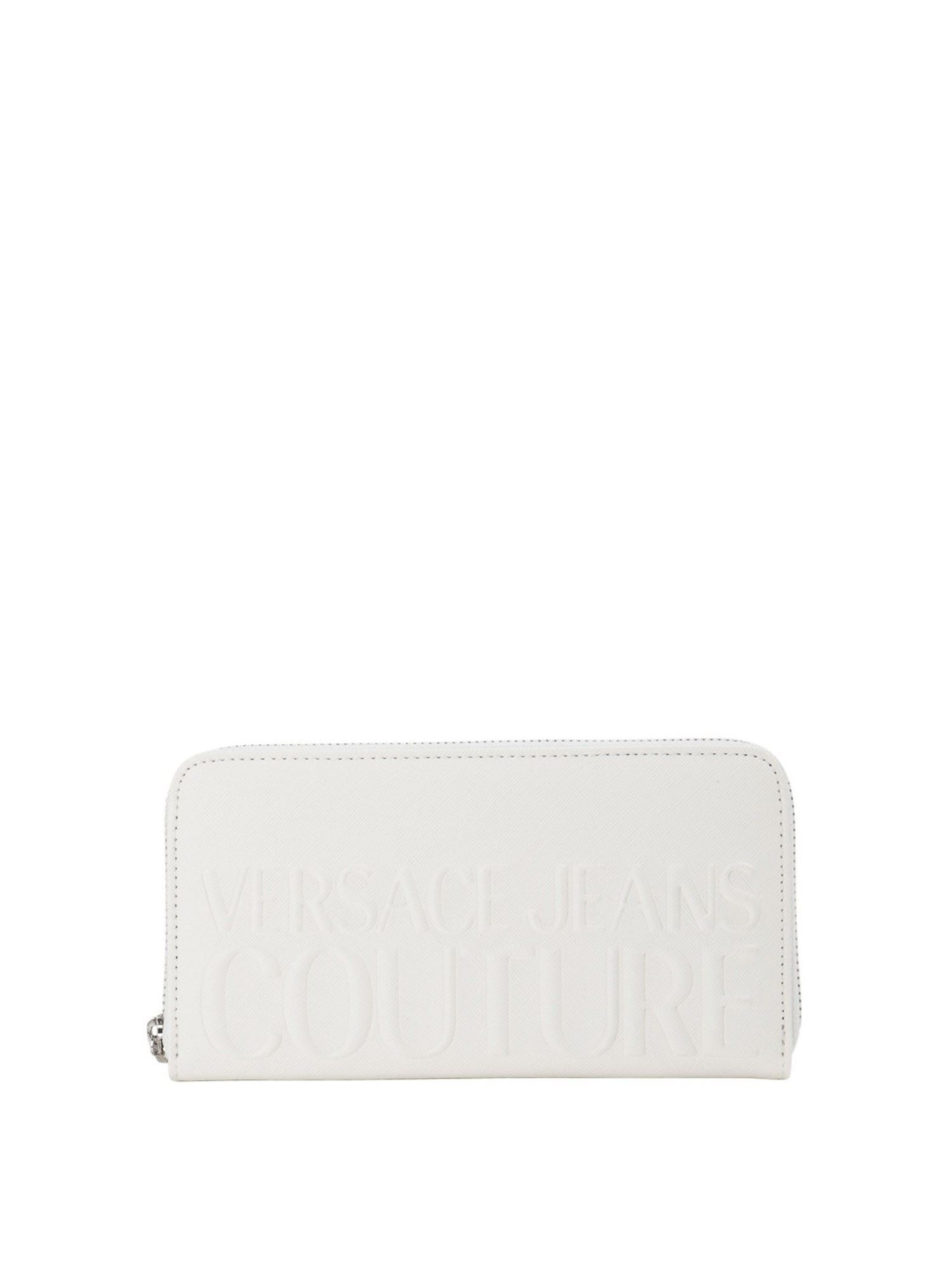 Versace Jeans Couture Wallets EMBOSSED LOGO WALLET IN WHITE