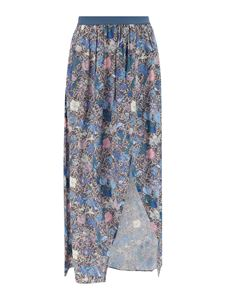Zadig & Voltaire - Floral skirt in blue