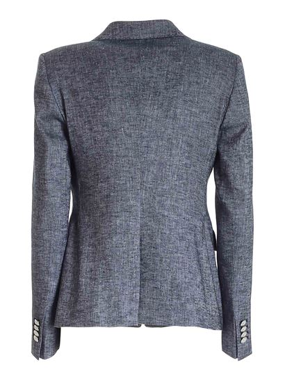 Tagliatore - Double-breasted jacket in blue