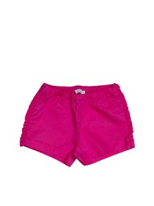 Il Gufo - Ruffled shorts in Ortensia color