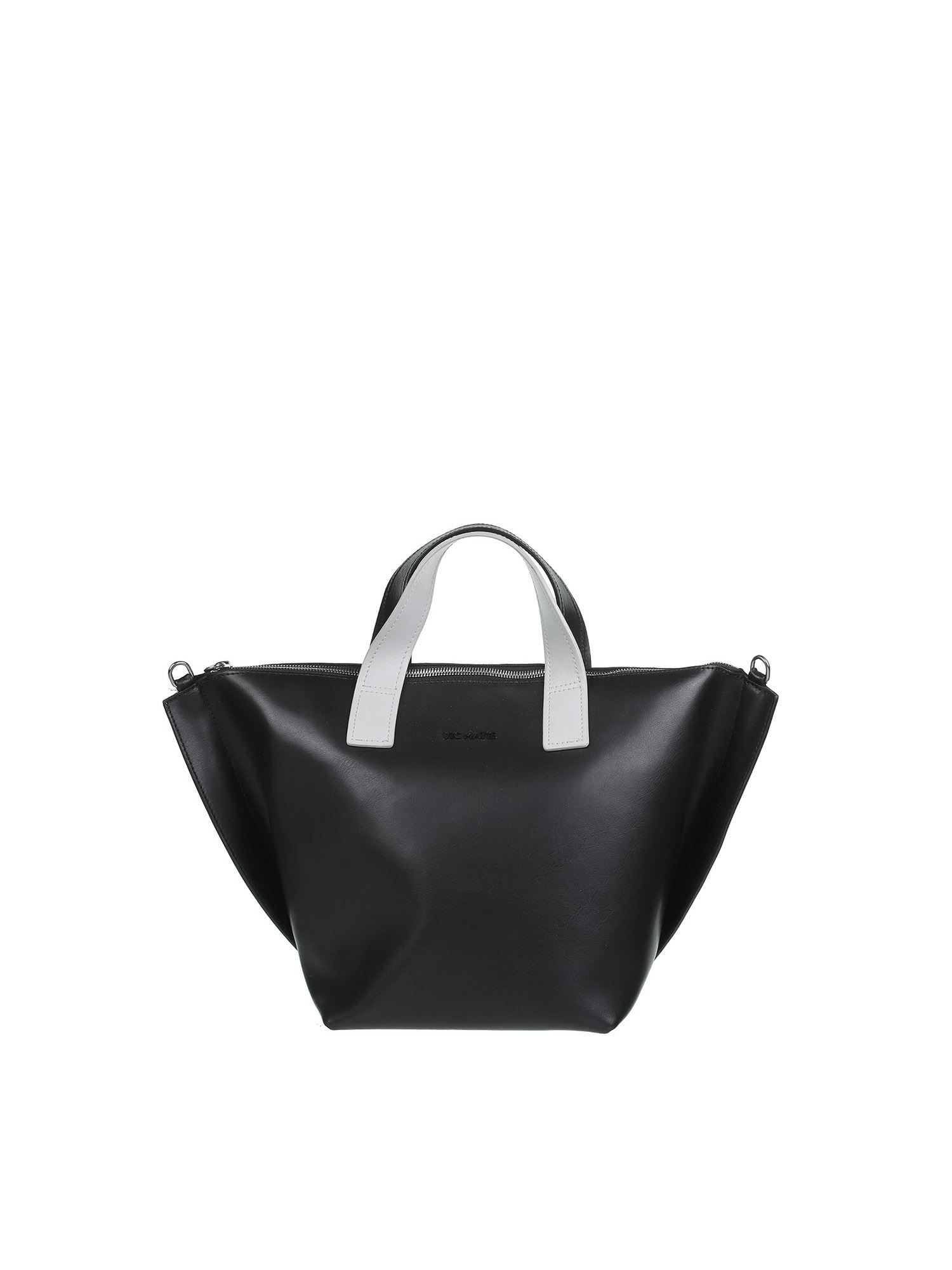 Vic Matie Totes ALIZEE SHOPPING BAG IN BLACK