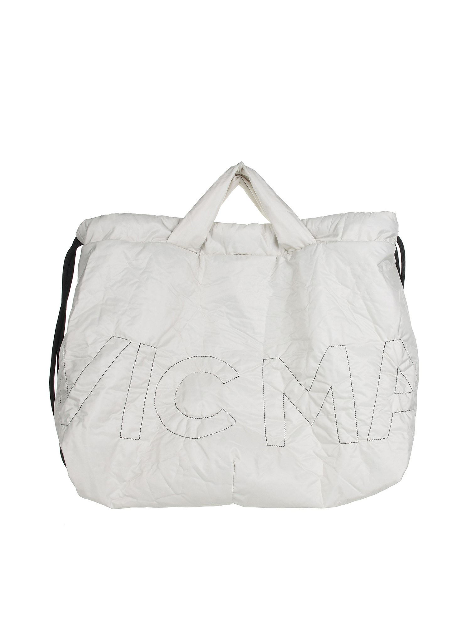 Vic Matie Shoulder bags PENELOPE SHOPPING BAG IN WHITE