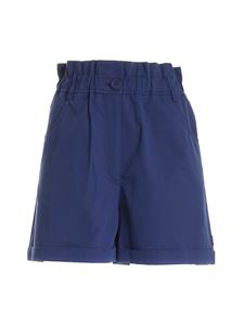Kenzo - High-waisted shorts in blue