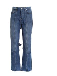 Kenzo - Bow jeans in blue