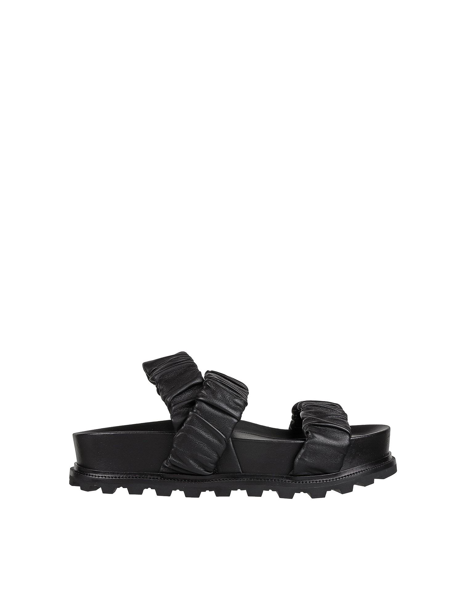 Vic Matie Sandals CHUNKY SANDALS IN BLACK