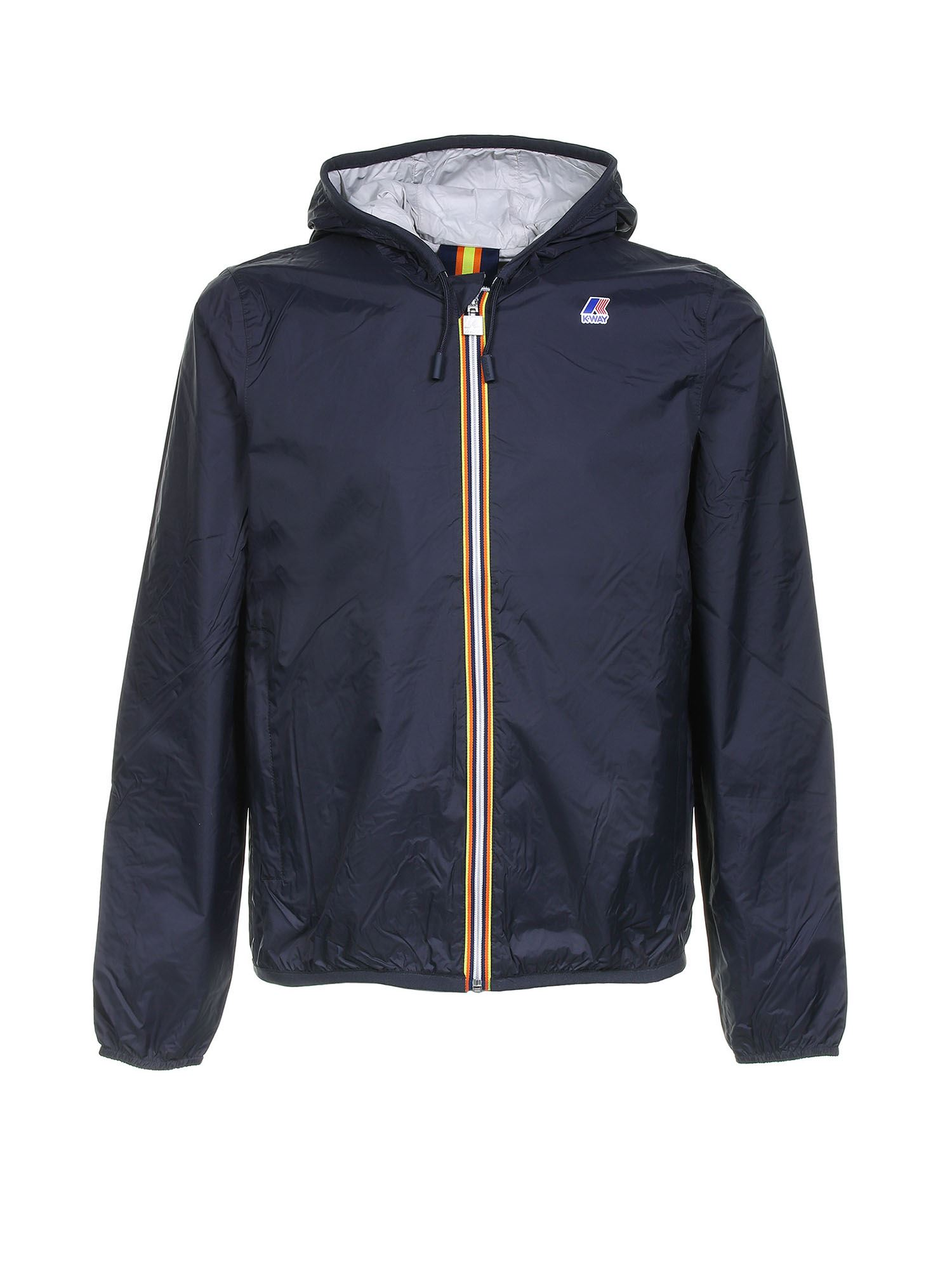 K-Way JACQUES PLUS DOUBLE JACKET IN BLUE