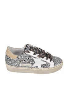 Golden Goose - Hi Star Classic sneakers in silver glitter