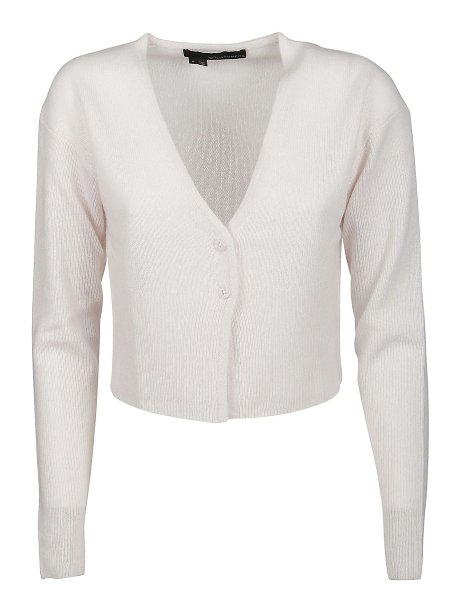 360cashmere Cardigans GRACE CARDIGAN IN WHITE