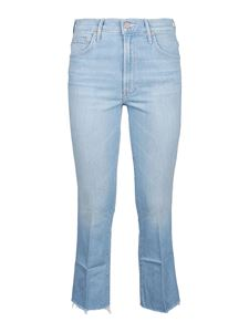 Mother - The Insider cropped jeans in light blue