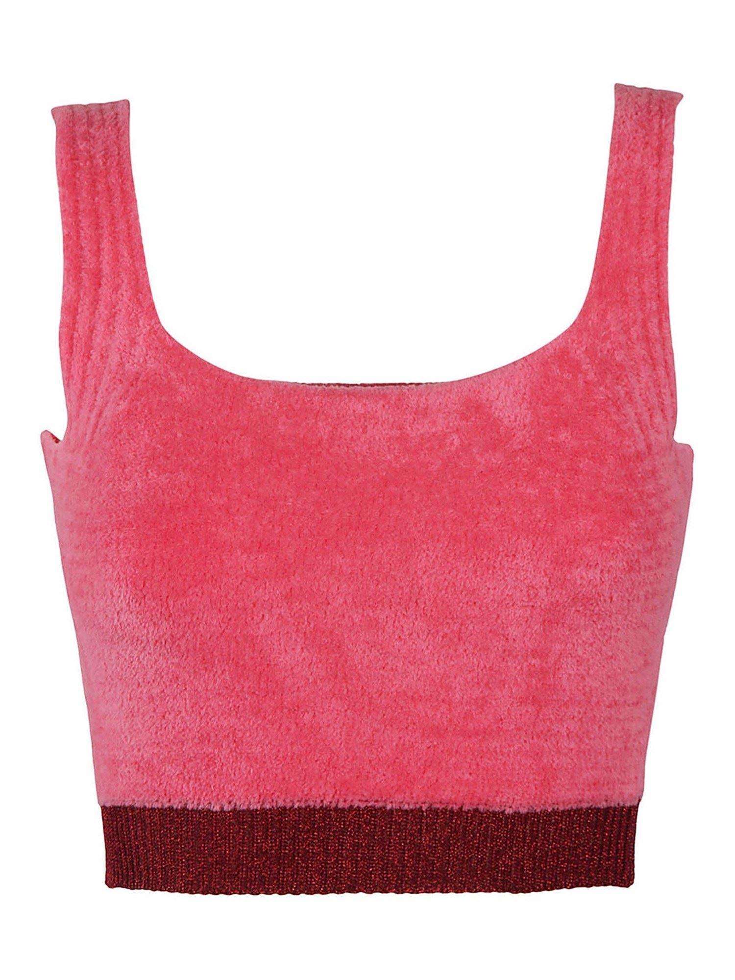 Pinko Cottons PINKO GIOCATORE TOP IN ROSA DUBARRY COLOR