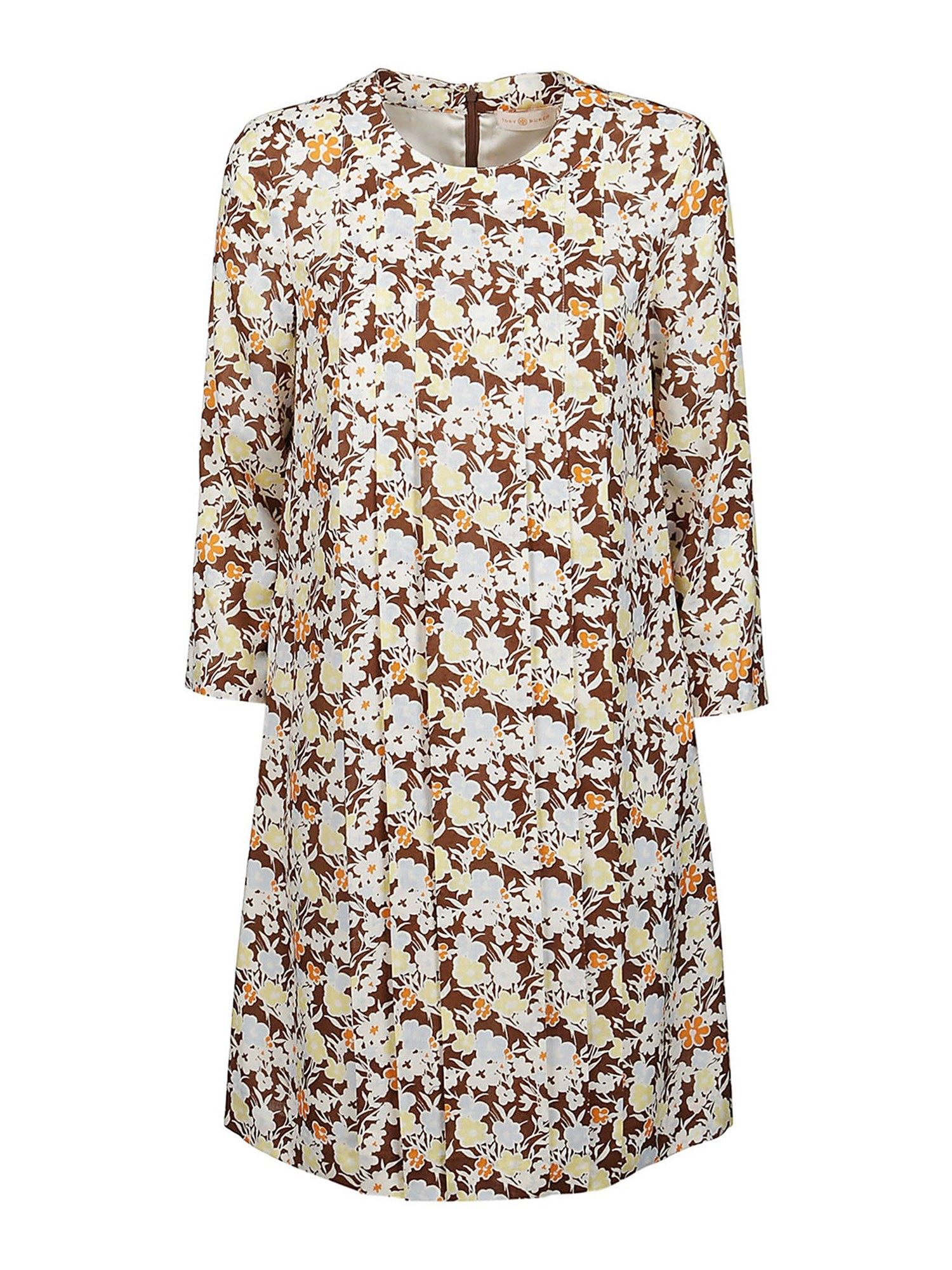 Tory Burch Mini dresses FLORAL PRINTED DRESS IN MULTICOLOR