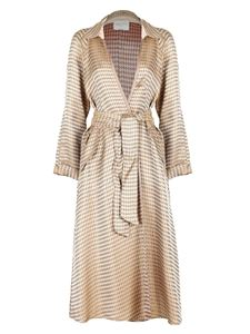 Forte Forte - Houndstooth jacquard trench coat