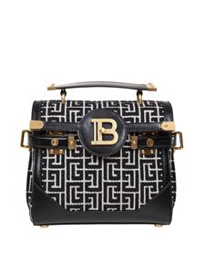 Balmain - B-Buzz bag in black and ivory