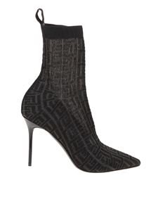 Balmain - Skye ankle boots in black