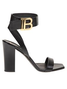 Balmain - Stella sandal in black