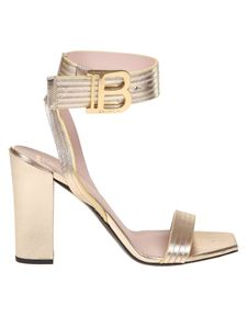 Balmain - Stella sandal in gold color