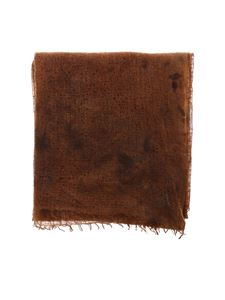 Avant Toi - Cashmere stole in brown