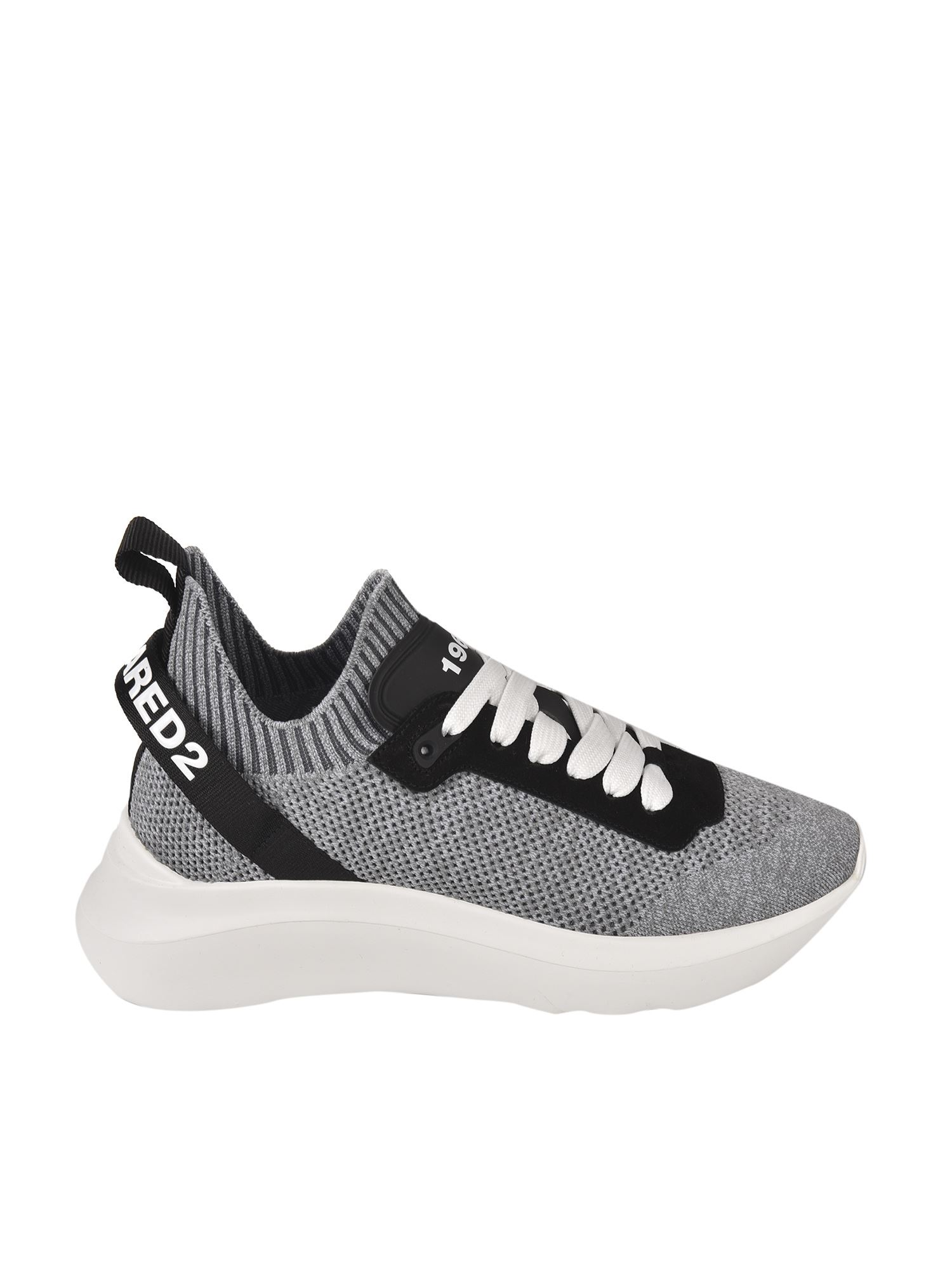 Dsquared2 SPEEDSTER SNEAKERS IN GRAY