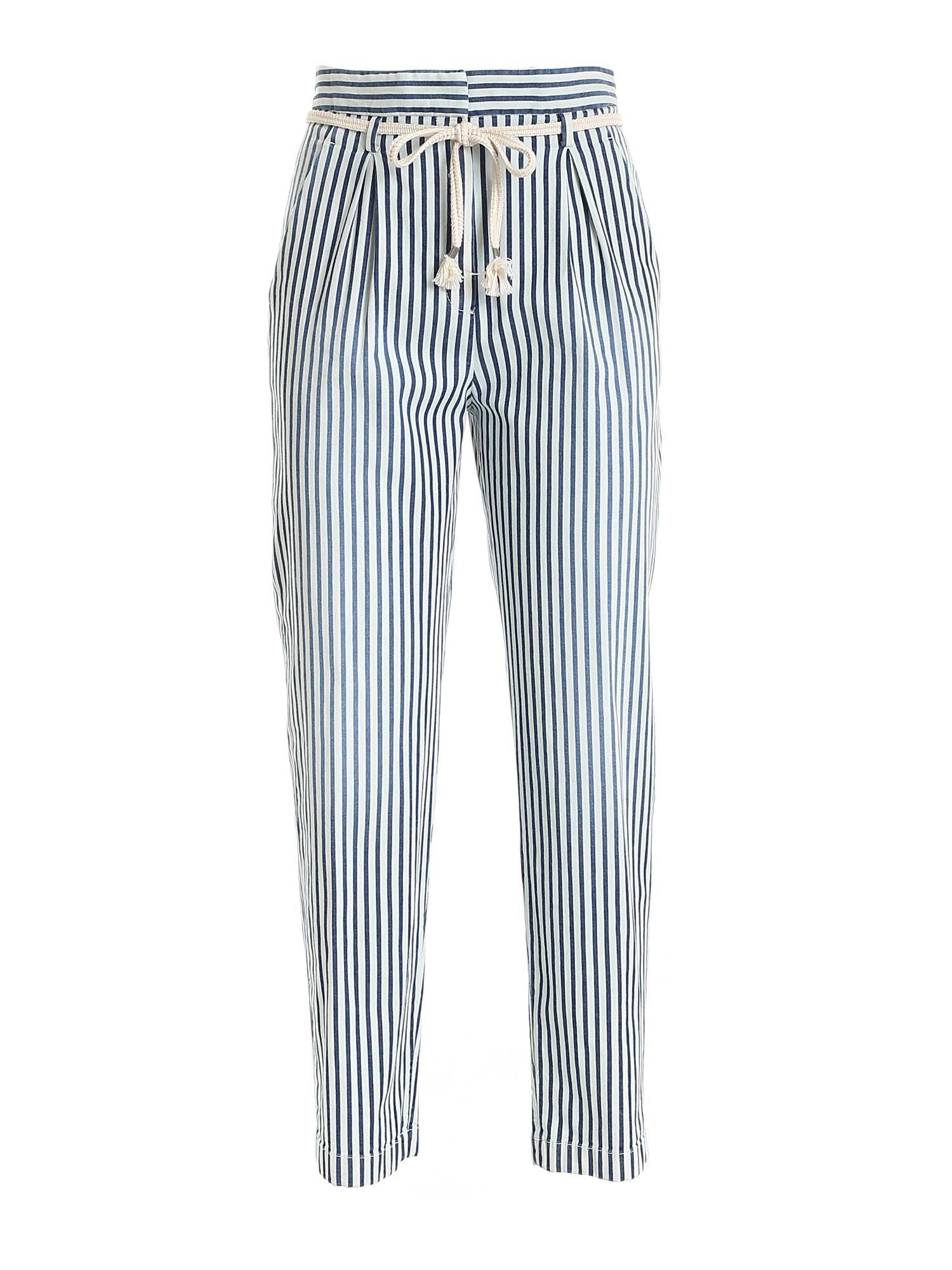 True Royal NICKY PANTS IN LIGHT BLUE AND BLUE