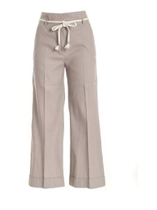 True Royal - Valentina pants in mud color