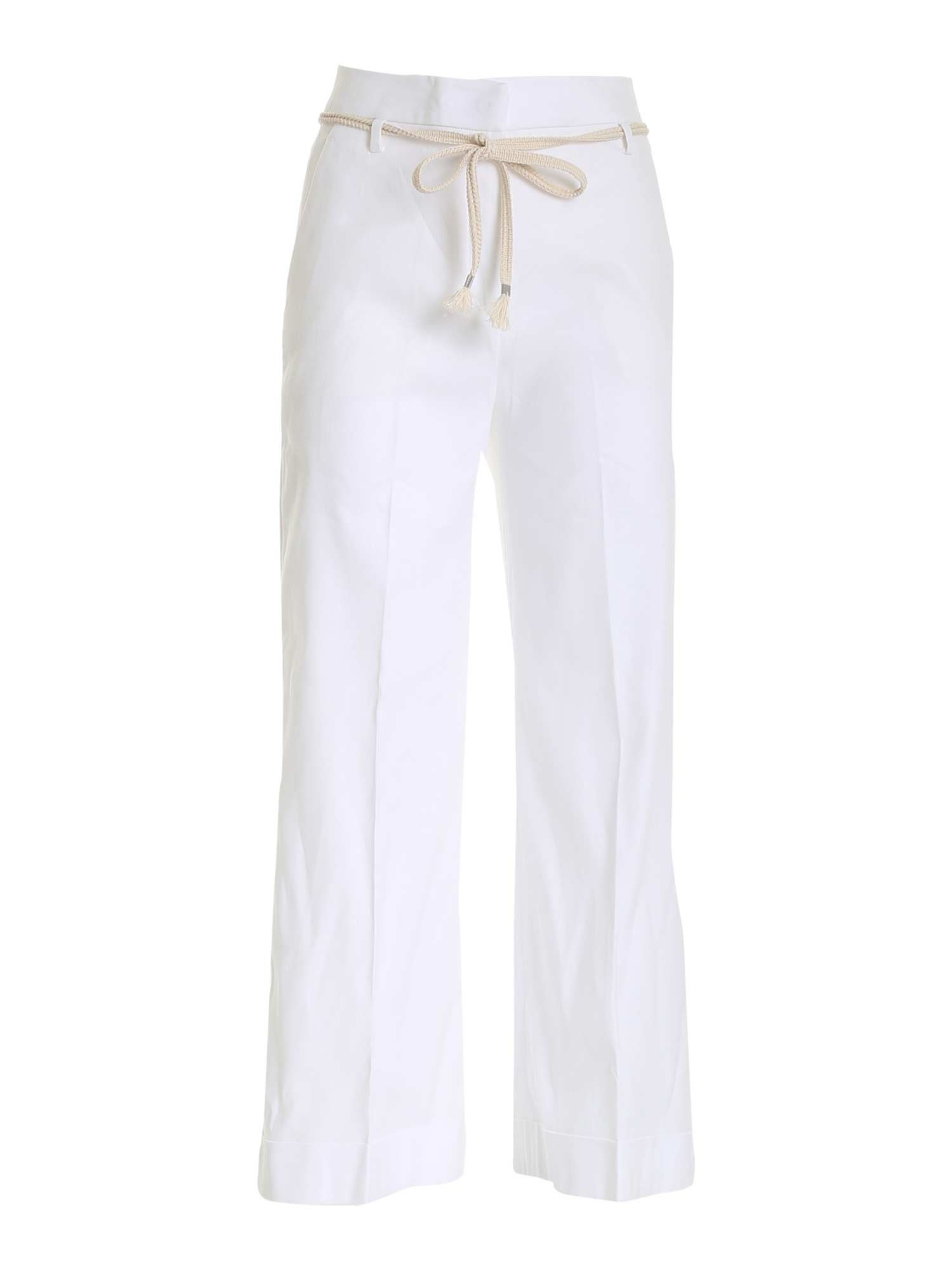 True Royal VALENTINA PANTS IN WHITE