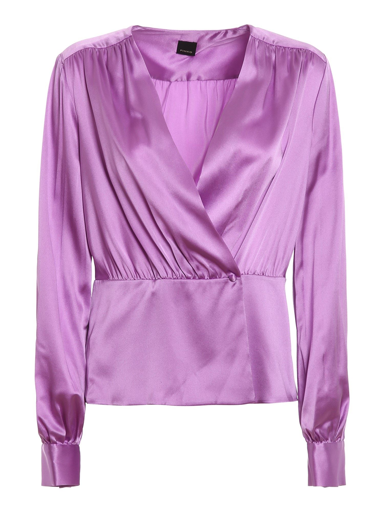 Pinko Blouses PINKO LIMITATO BLOUSE IN LILAC