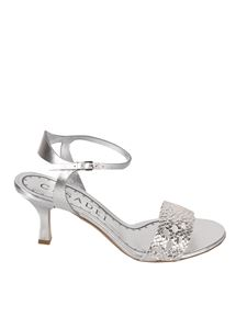 Casadei - Versilia sandals in silver color