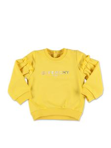 Givenchy - Logo sweatshirt in yellow