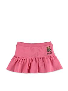 Moschino Kids - Teddy skirt in pink
