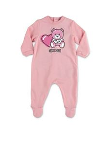 Moschino Kids - Pink onesie set