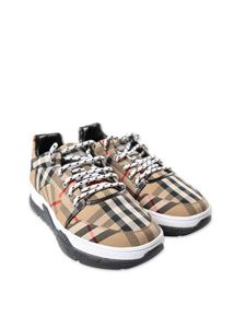 Burberry - Vintage Check beige sneakers