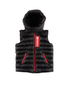 Burberry - Keller sleeveless down jacket in black
