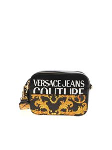 Versace Jeans Couture - Baroque logo cross body bag in black