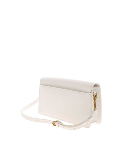 Versace Jeans Couture - Lettering logo bag in white