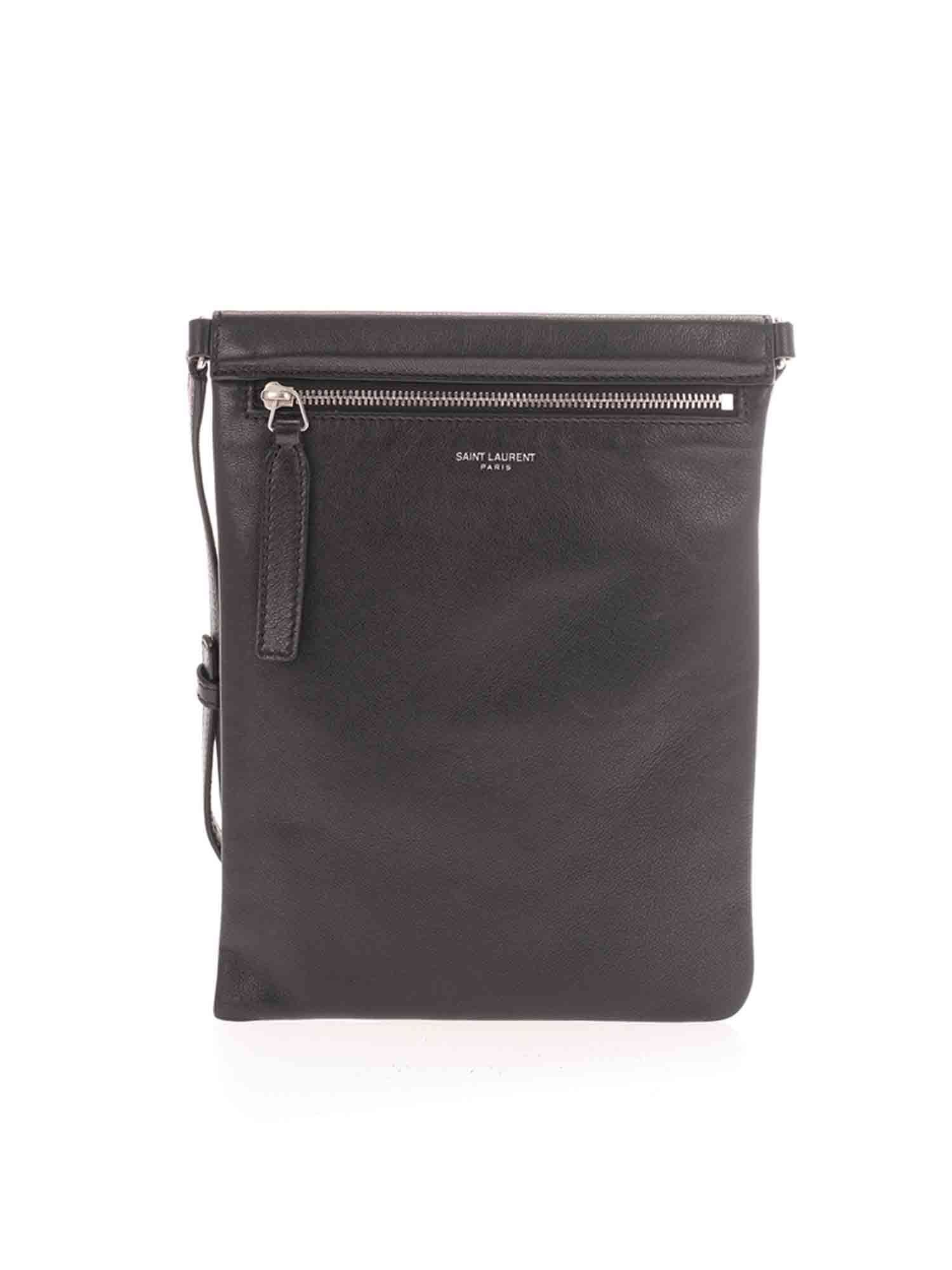 Saint Laurent CROSSBODY BAG IN BLACK