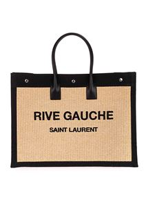 Saint Laurent - Rive Gauche shopping bag in beige