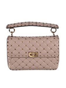 Valentino Garavani - Medium Rockstud Spike bag in pink