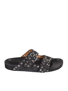 Isabel Marant - Lennyo sandals in Faded black