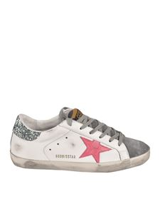 Golden Goose - Superstar Classic sneakers in white and gray