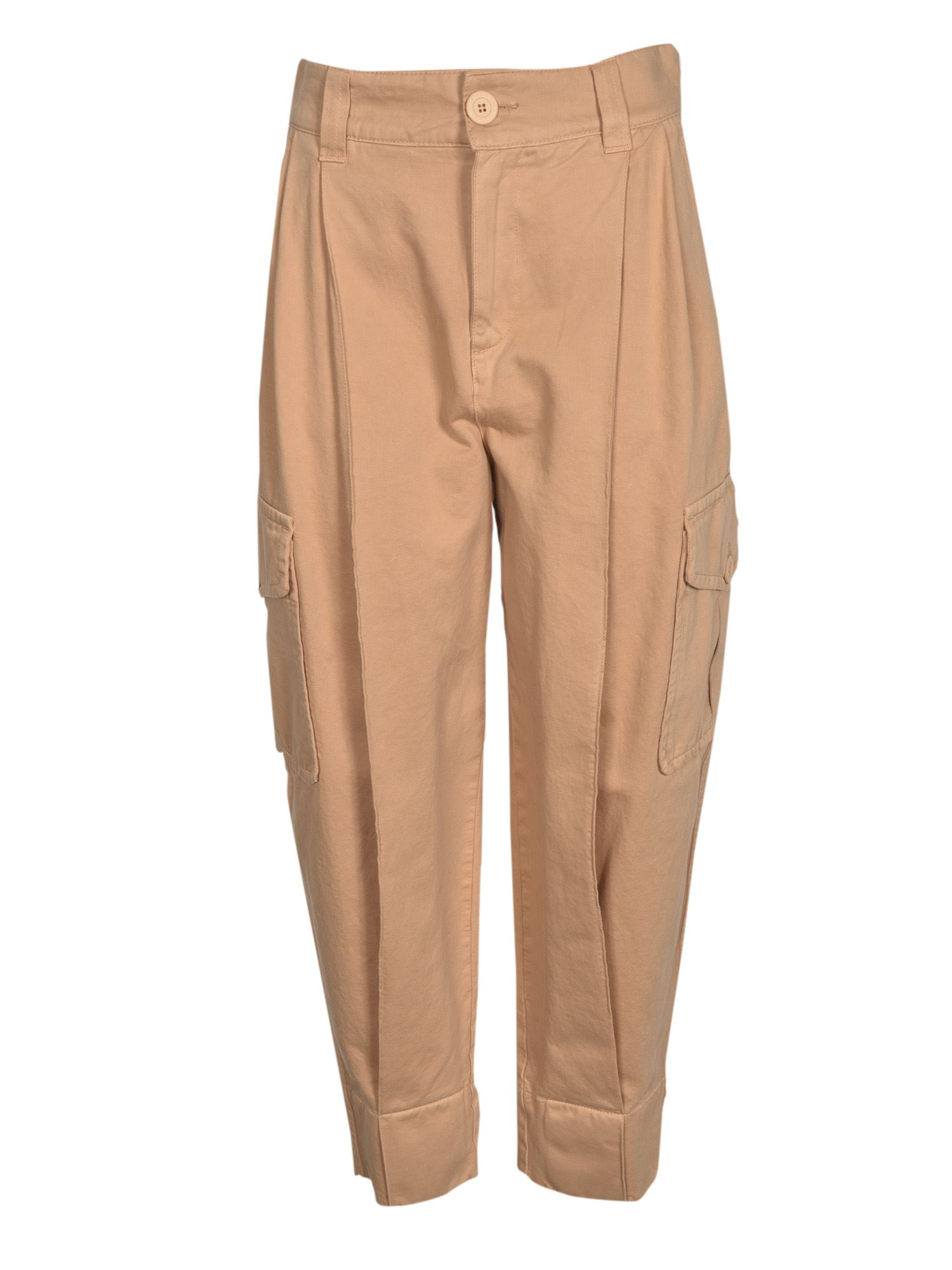 See By Chloé Cottons CARGO PANTS IN DELICATE PINK