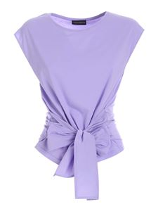 Paolo Fiorillo - Bow top in purple