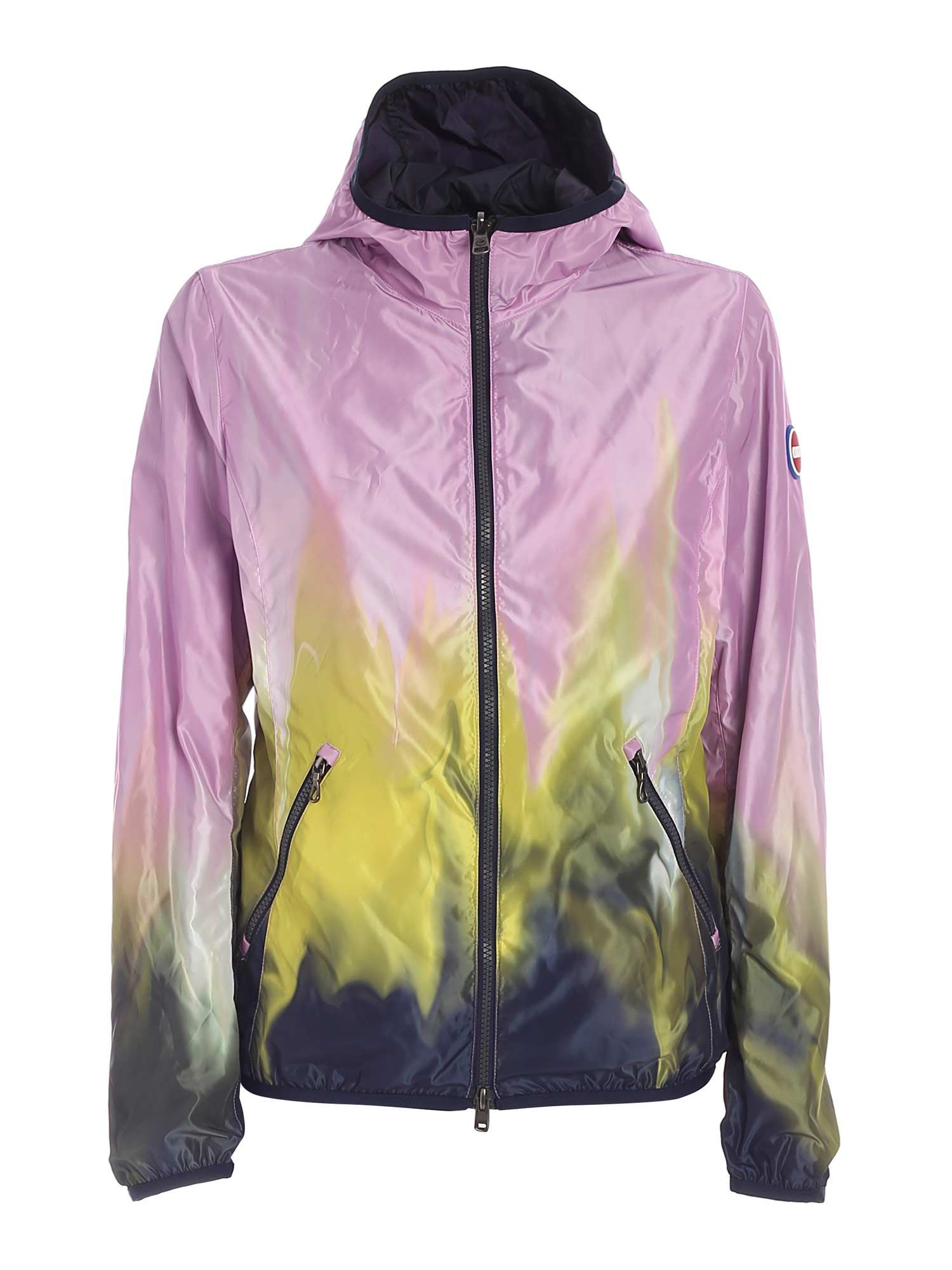 Colmar Originals NOTE JACKET IN LILAC, YELLOW AND BLUE