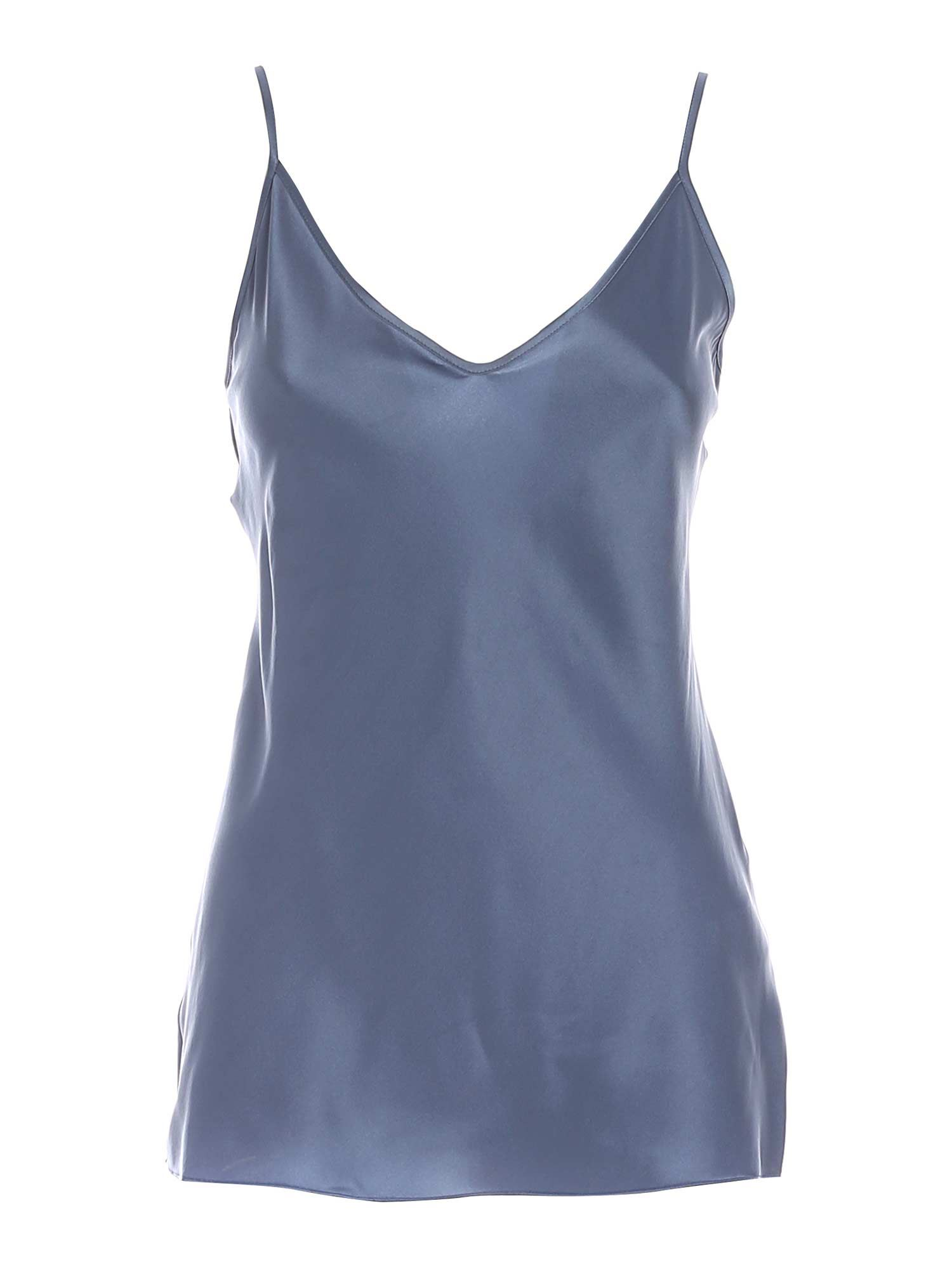 Max Mara LUCCA TOP IN PALE BLUE COLOR