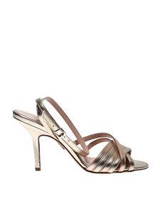 Anna F. - 3153 sandals in platinum color