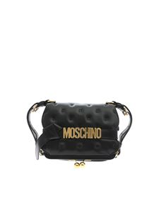 Moschino - Inside Out Quilting cross body bag in black