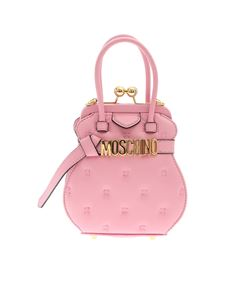 Moschino - Inside Out Quilting handbag in pink