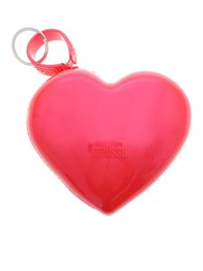 Melissa - Heart coin purse in red