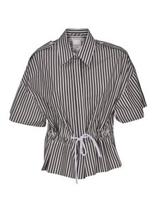 Sportmax - Elettra striped shirt in black and white