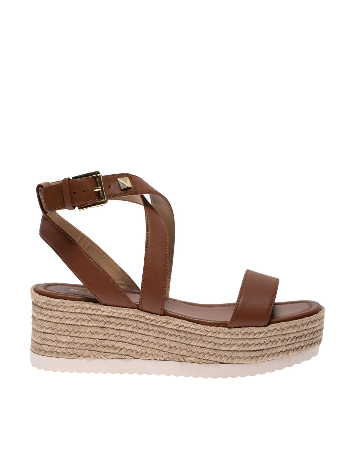 Michael Kors LOWRY SANDALS IN BROWN